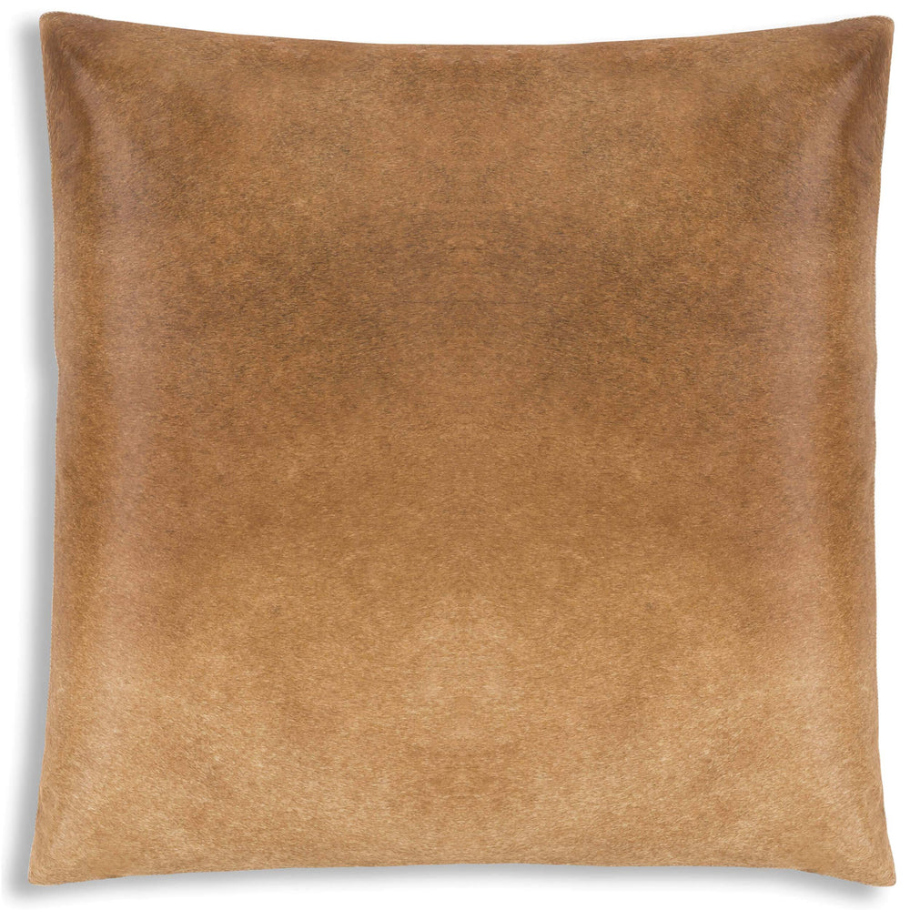 Cloud 9 Lagos Hide Pillow, Sand - Accessories - High Fashion Home