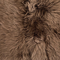 Lalo Lambskin Throw, Taupe