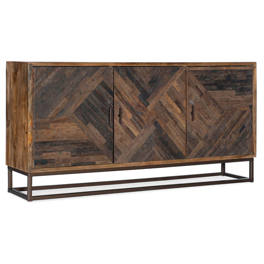 Lamar Entertainment Console - Furniture - Accent Tables - High Fashion Home