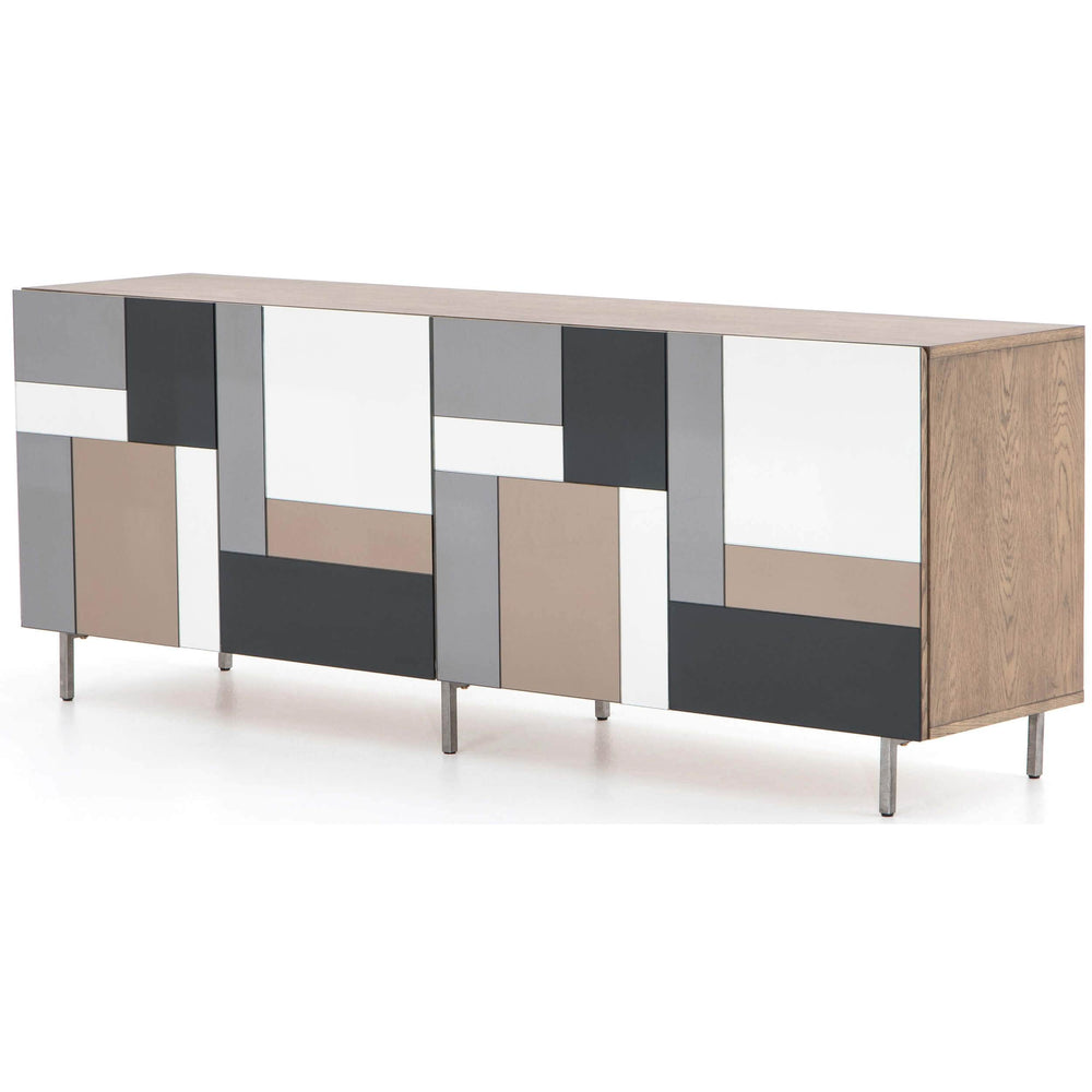 Lena Media Console - Furniture - Accent Tables - High Fashion Home