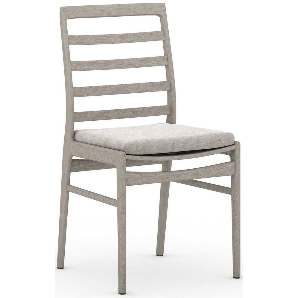 Linnet Outdoor Dining Chair, Stone Grey/Weathered Grey - Furniture - Dining - High Fashion Home