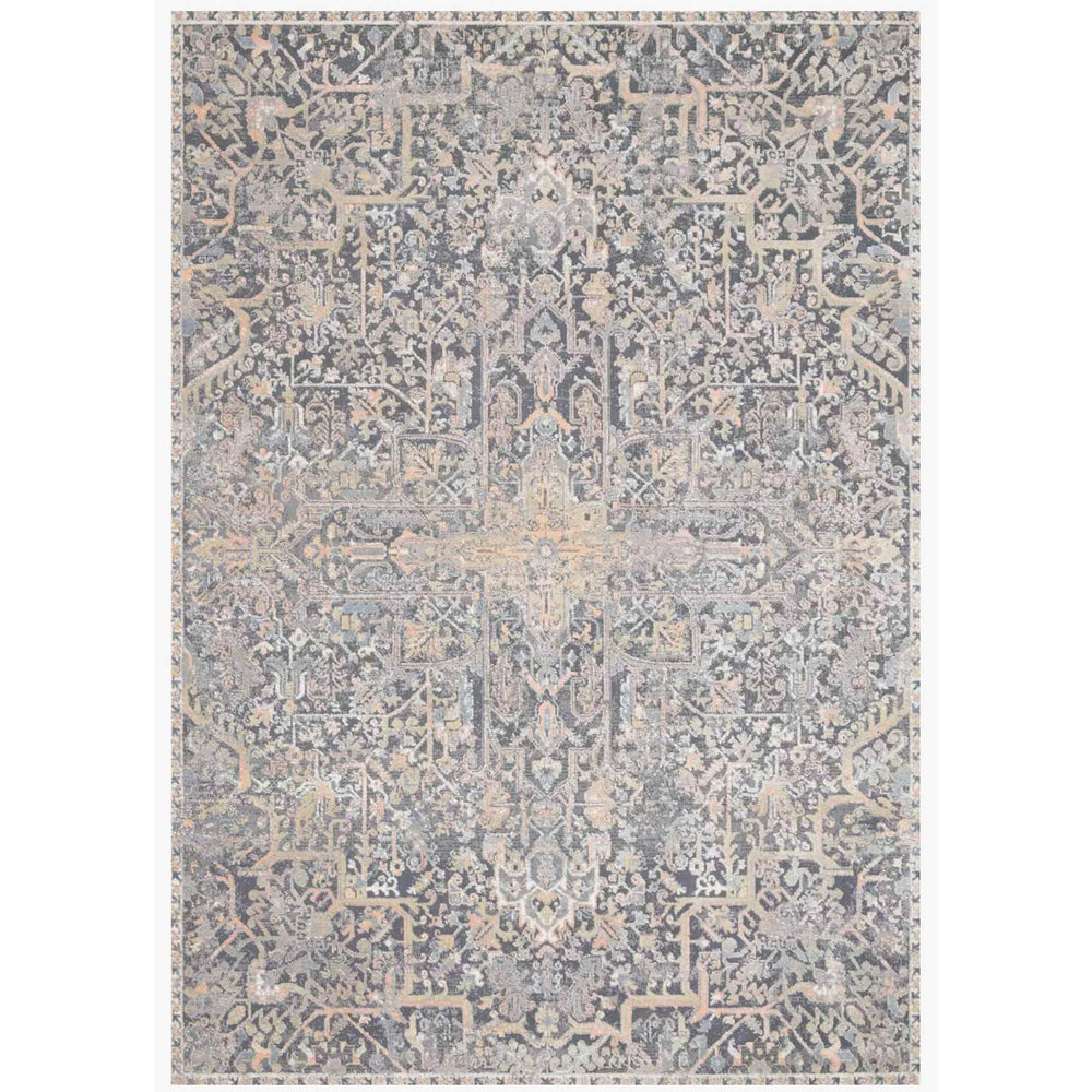 Loloi Rug Lucia LUC-02, Charcoal/Multi - Rugs1 - High Fashion Home