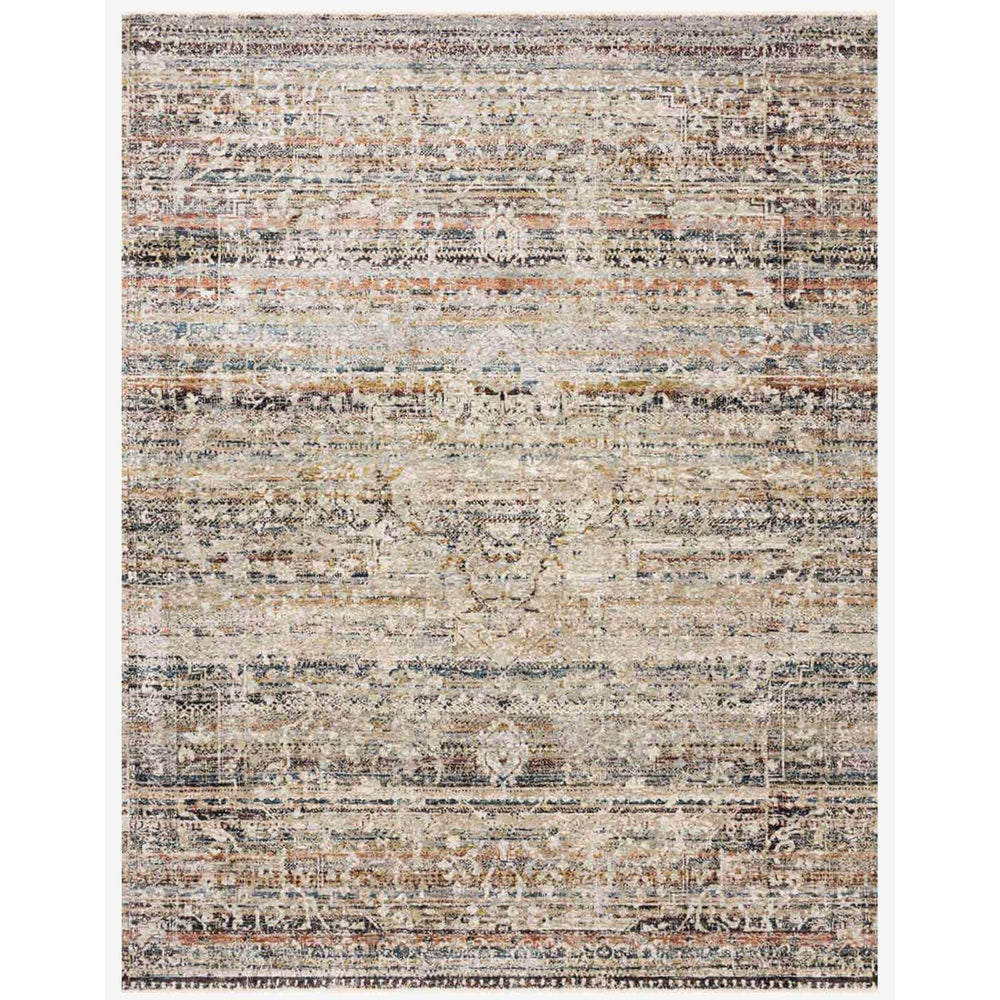 Loloi Rug Theia THE-03, Taupe/Multi - Rugs1 - High Fashion Home