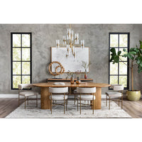 Lunas Oval Dining Table