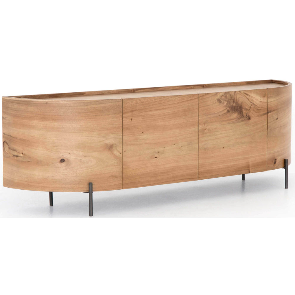Lunas Media Console - Furniture - Accent Tables - High Fashion Home