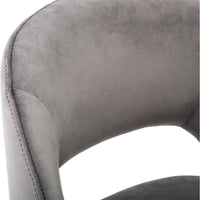 Mark Counter Stool, Alisa Dark Grey