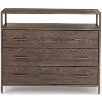 Mason 3 Drawer Dresser - Furniture - Bedroom - High Fashion Home