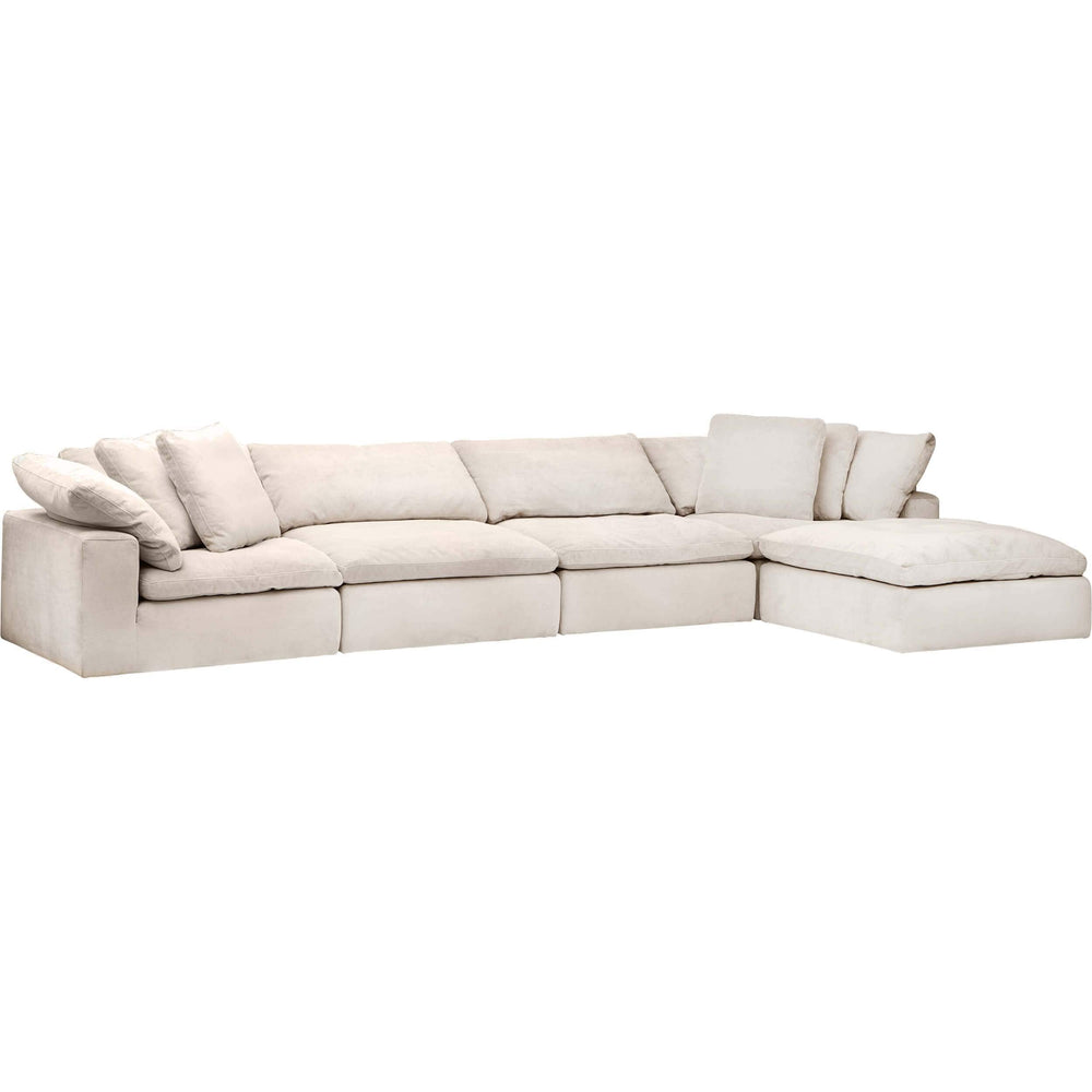 Mateo 5 Piece Modular Sectional, Romo Linen - Modern Furniture - Sectionals - High Fashion Home
