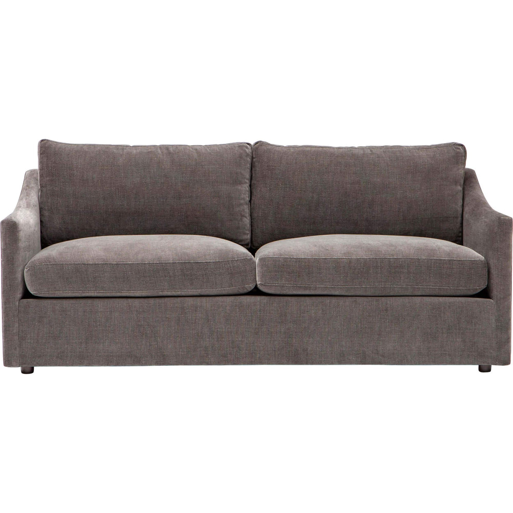 Mia Apartment Sofa, Vino Slate - Modern Furniture - Sofas - High Fashion Home