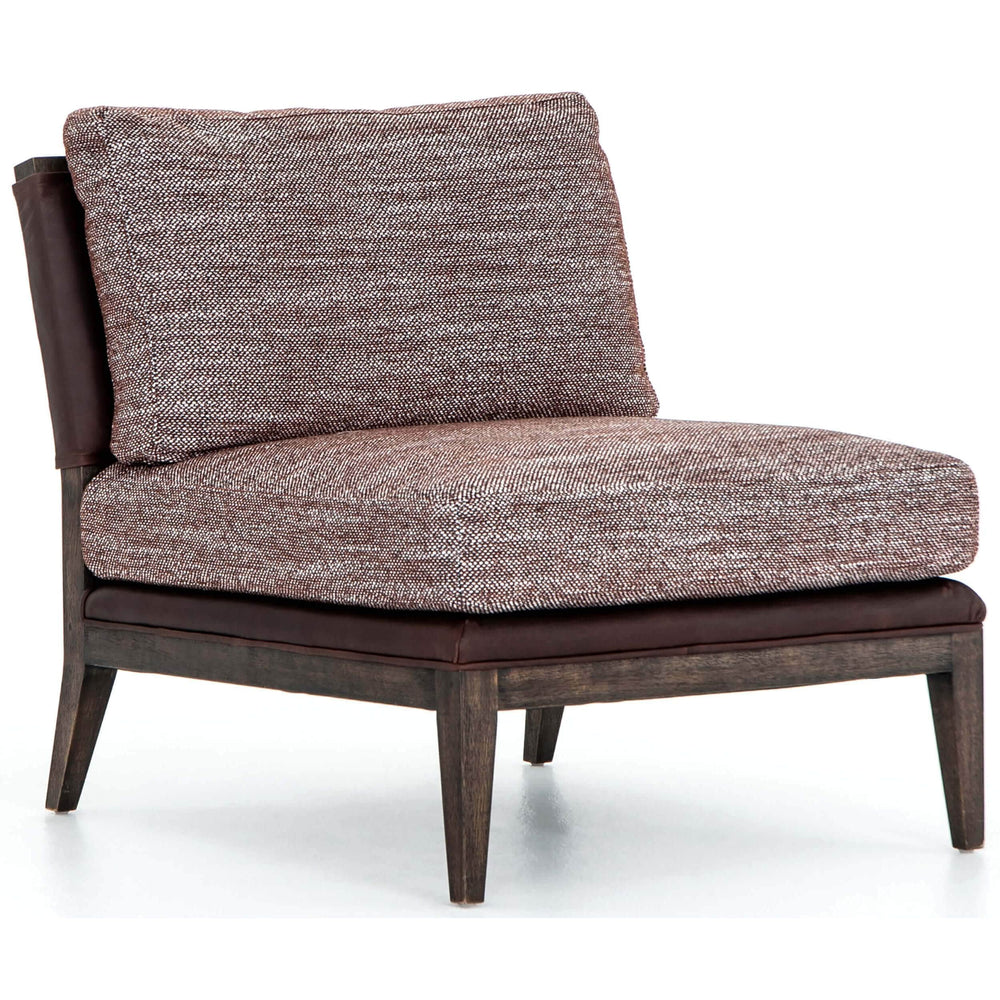 Micah Chair, Afton Aubergine - Modern Furniture - Accent Chairs - High Fashion Home