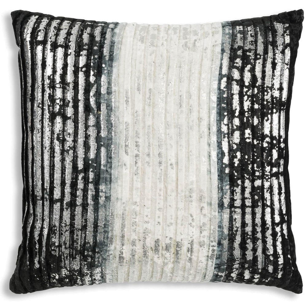 Cloud 9 Milo Pillow, Black - Accessories - High Fashion Home