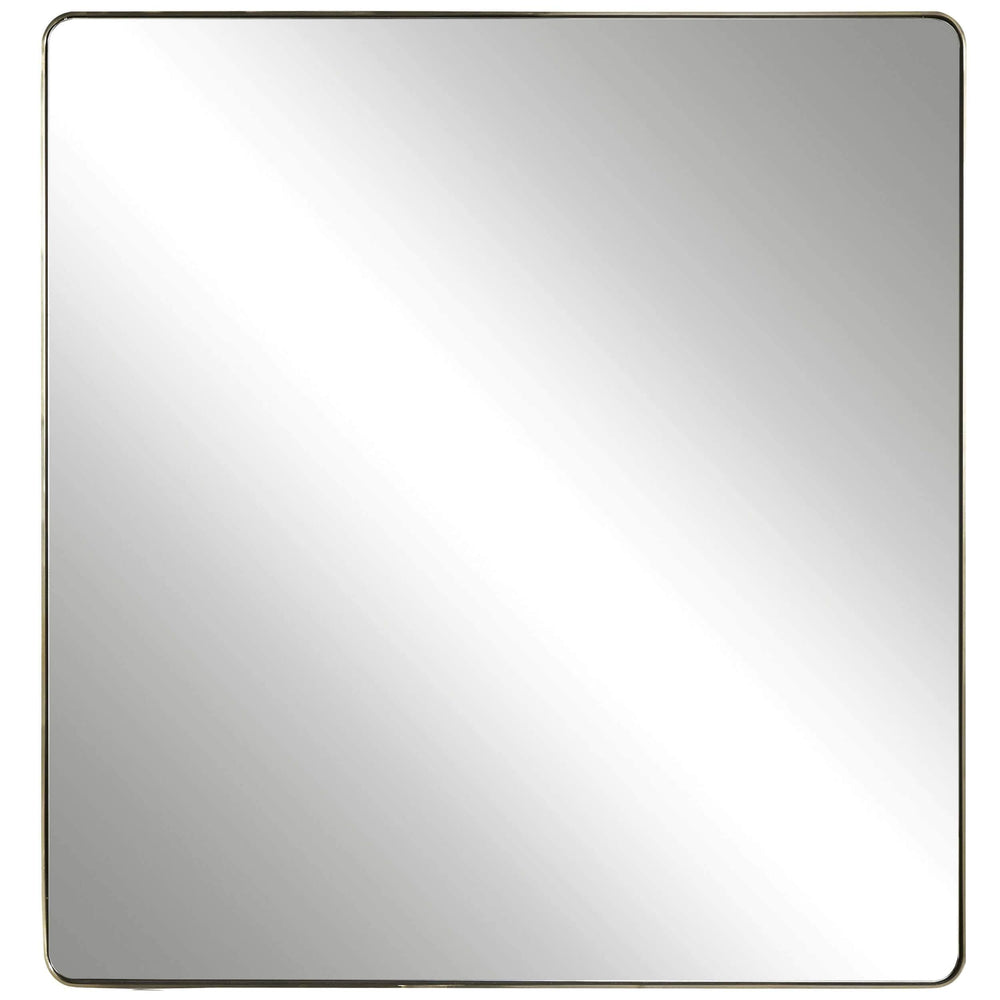 Modern Square Accent Mirror
