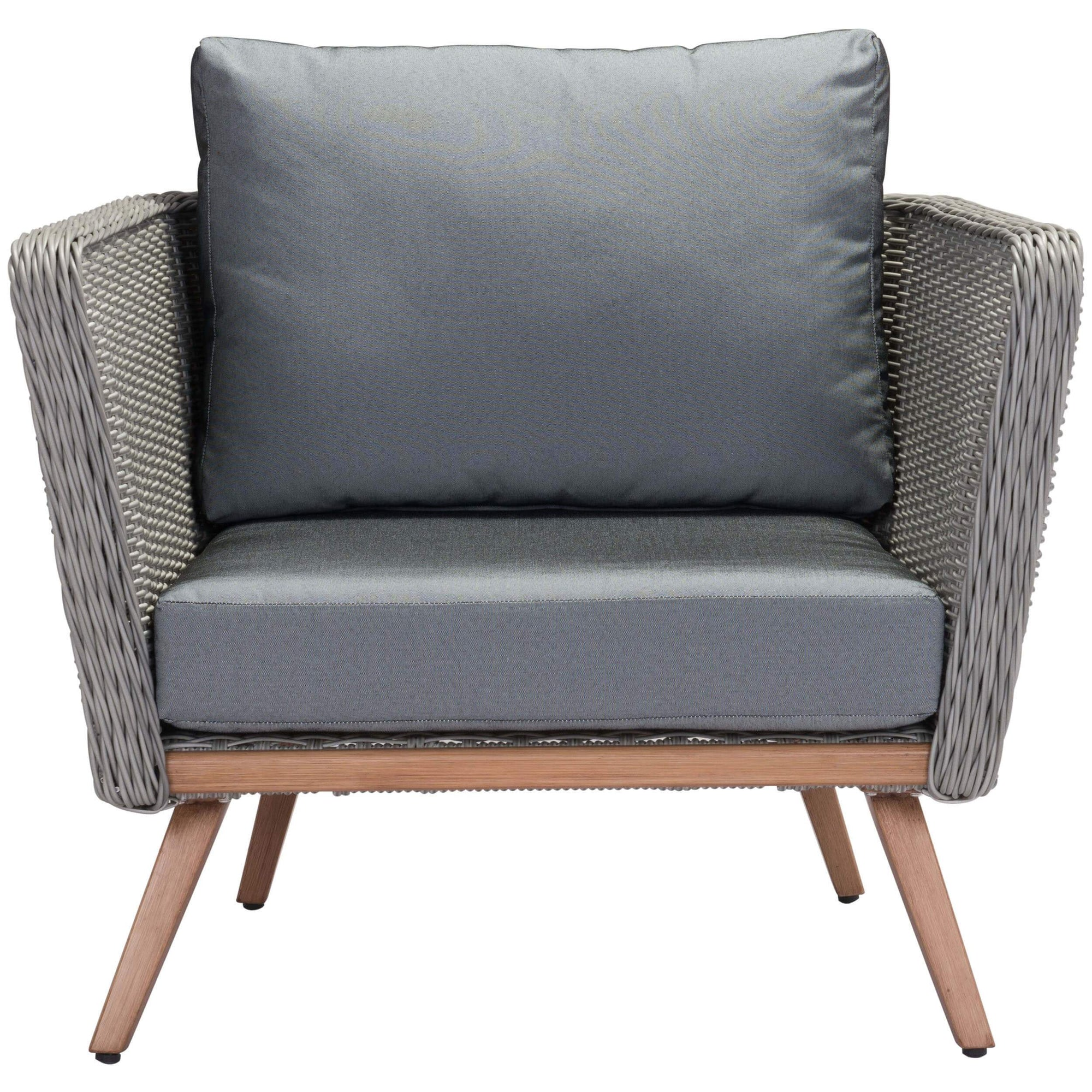 Cool Monaco Outdoor Arm Chair Gray Pdpeps Interior Chair Design Pdpepsorg