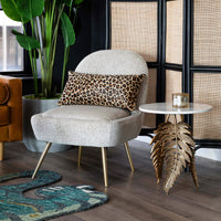Neruda Side Table, Gold