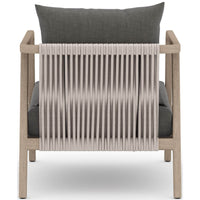Numa Outdoor Chair, Charcoal/Washed Brown - Modern Furniture - Accent Chairs - High Fashion Home