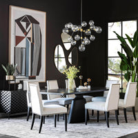 Oliver Side Chair, Nomad Snow - Furniture - Dining - High Fashion Home