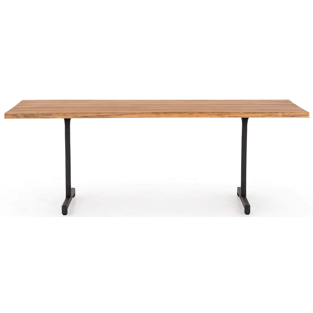 Picture of: Oran Outdoor Dining Table Natural Teak High Fashion Home