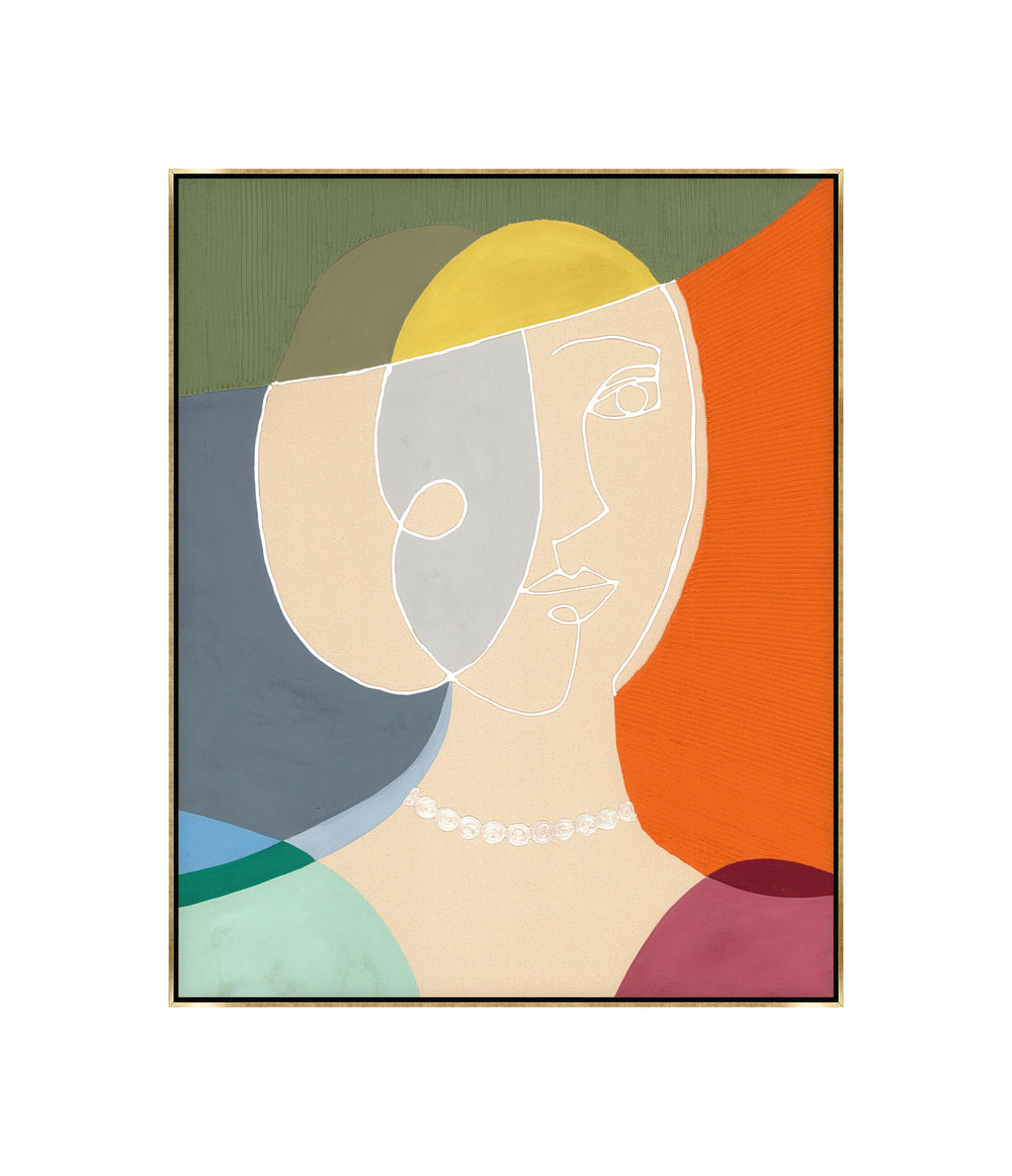Portrait Of A Lady II-Accessories Artwork-High Fashion Home
