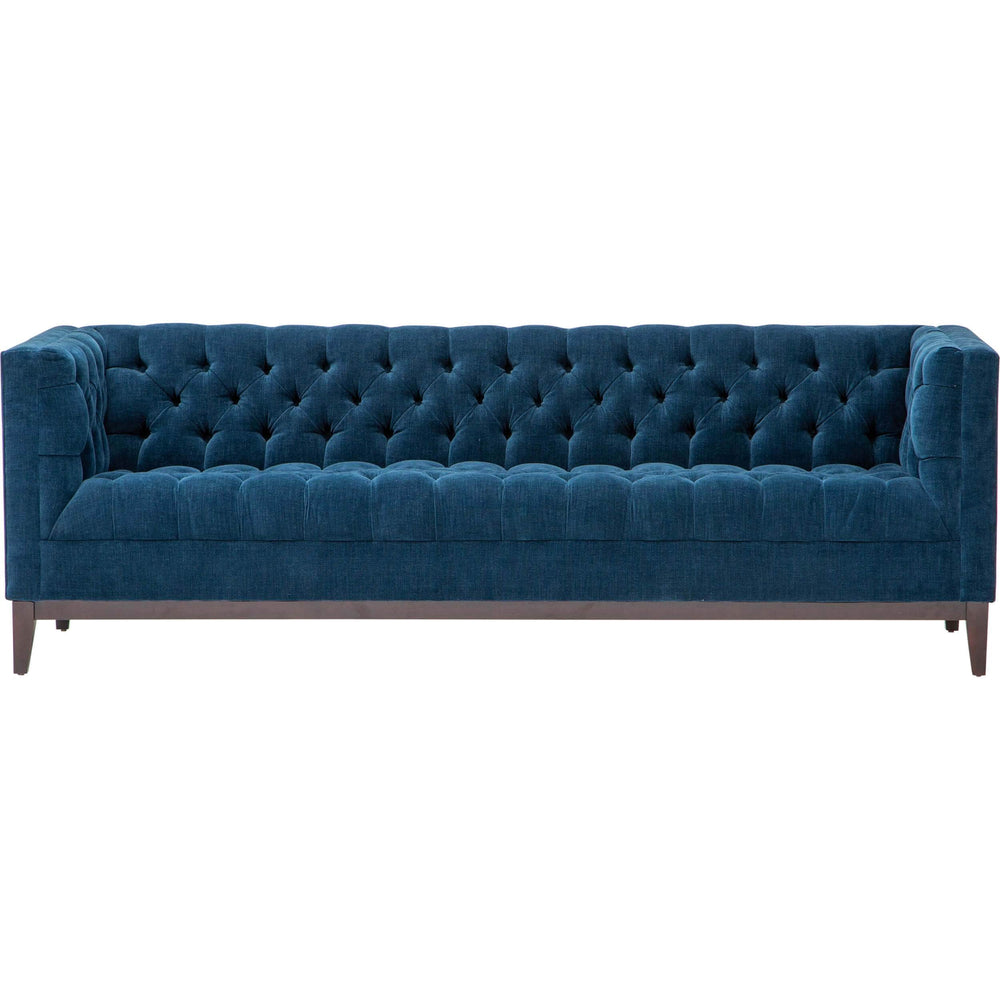 Powell Sofa, Lucky Indigo - Modern Furniture - Sofas - High Fashion Home
