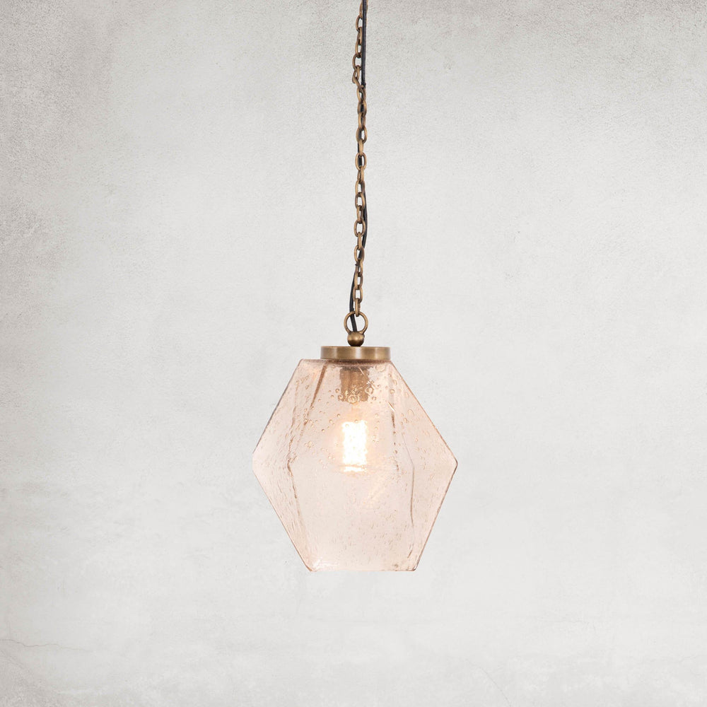 Pratt Pendant, Antique Brass - Lighting - High Fashion Home
