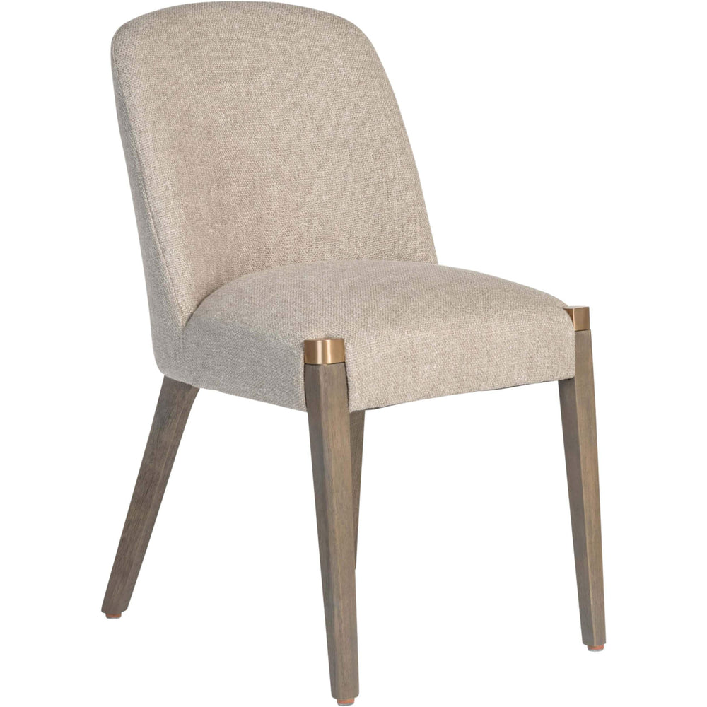 Reston Dining Chair, Woven Bisque - Furniture - Dining - High Fashion Home