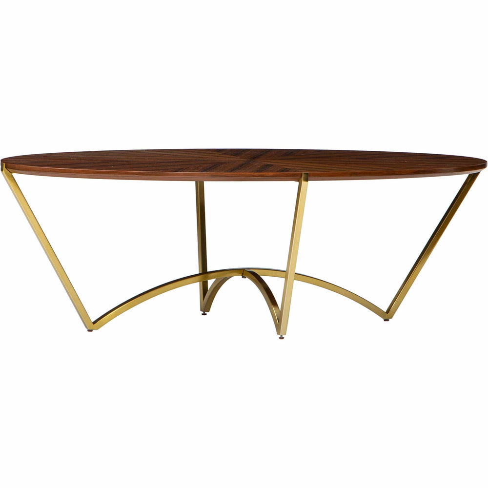 Rianne Oval Cocktail Table - Modern Furniture - Coffee Tables - High Fashion Home