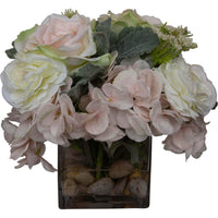 Rose, Hydrangea, Ranunculus Water Garden - Accessories - High Fashion Home