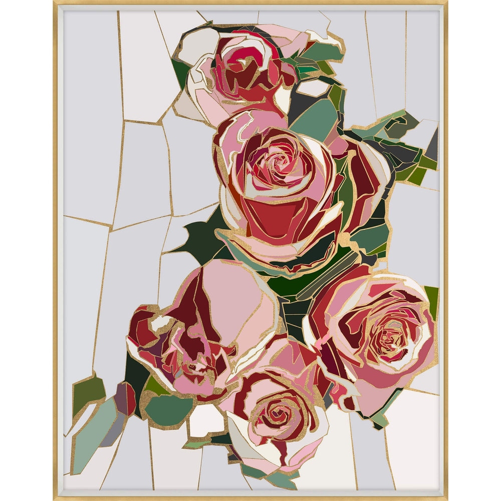 Roses are Red II Framed - Accessories Artwork - High Fashion Home