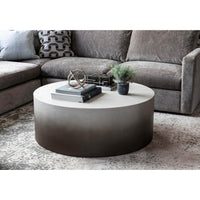 Sheridan Small Outdoor Coffee Table, Slate Grey Ombre