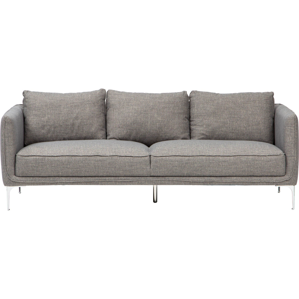 Sherman Sofa, Prestige Fog - Modern Furniture - Sofas - High Fashion Home