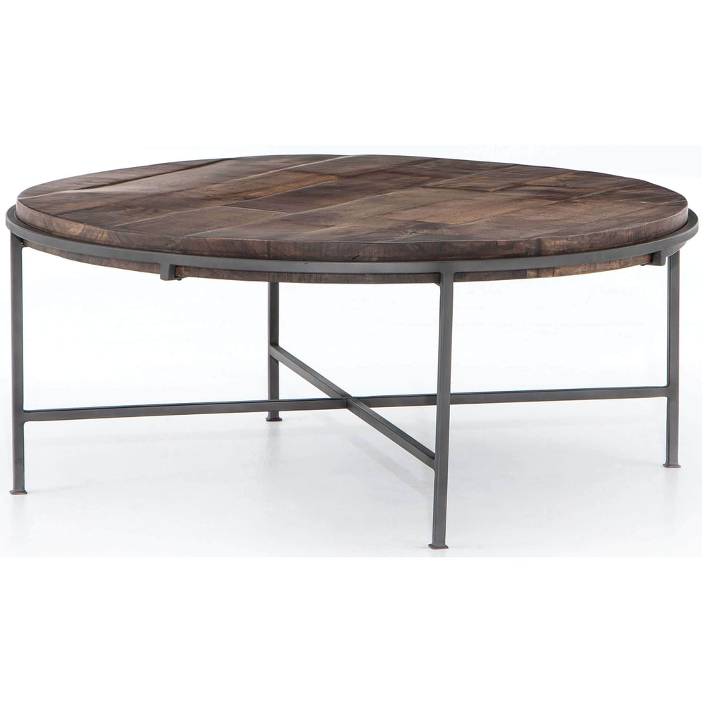 Simien Round Coffee Table - Modern Furniture - Coffee Tables - High Fashion Home