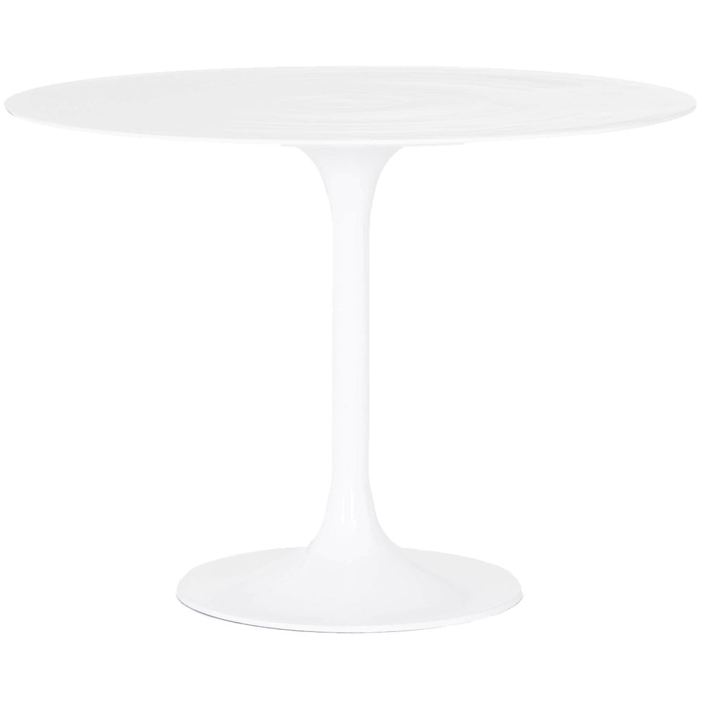 Simone Bistro Table, White - Modern Furniture - Dining Table - High Fashion Home