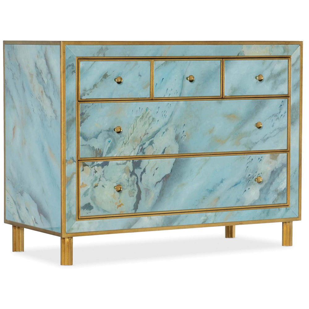 Sorrell 5 Drawer Chest - Furniture - Bedroom - High Fashion Home