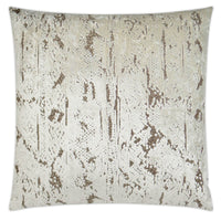 Stonewash Pillow, Ivory - Accessories - High Fashion Home