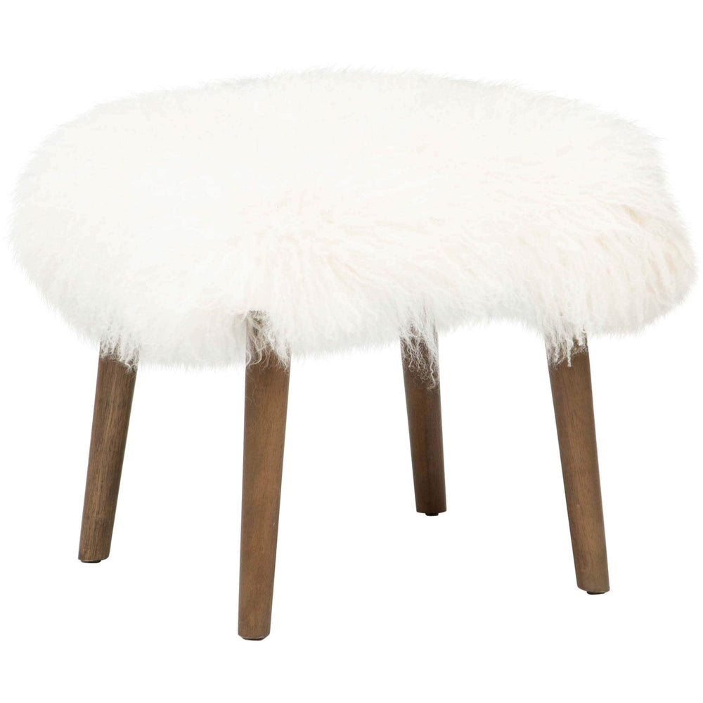 Sullivan Mongolian Ottoman, Natural - Furniture - Chairs - High Fashion Home