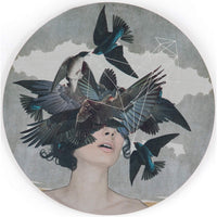 Swallow Blind I by Alexandra Gallagher - Accessories Artwork - High Fashion Home