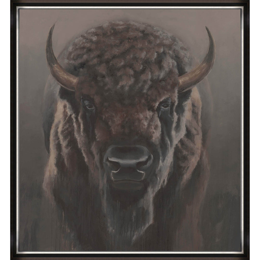 The Great Bison Framed - Accessories Artwork - High Fashion Home