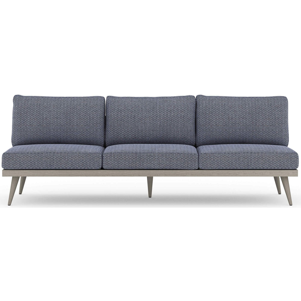 "Tilly 90"" Outdoor Sofa, Faye Navy - Furniture - Sofas - High Fashion Home"