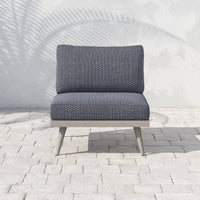 Tilly Outdoor Chair, Faye Navy - Furniture - Chairs - High Fashion Home
