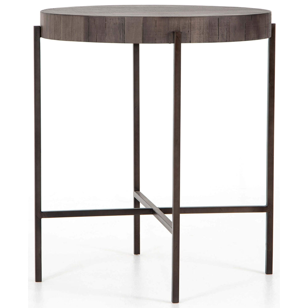 Tinsley Bar Table, Distressed Grey - Modern Furniture - Dining Table - High Fashion Home