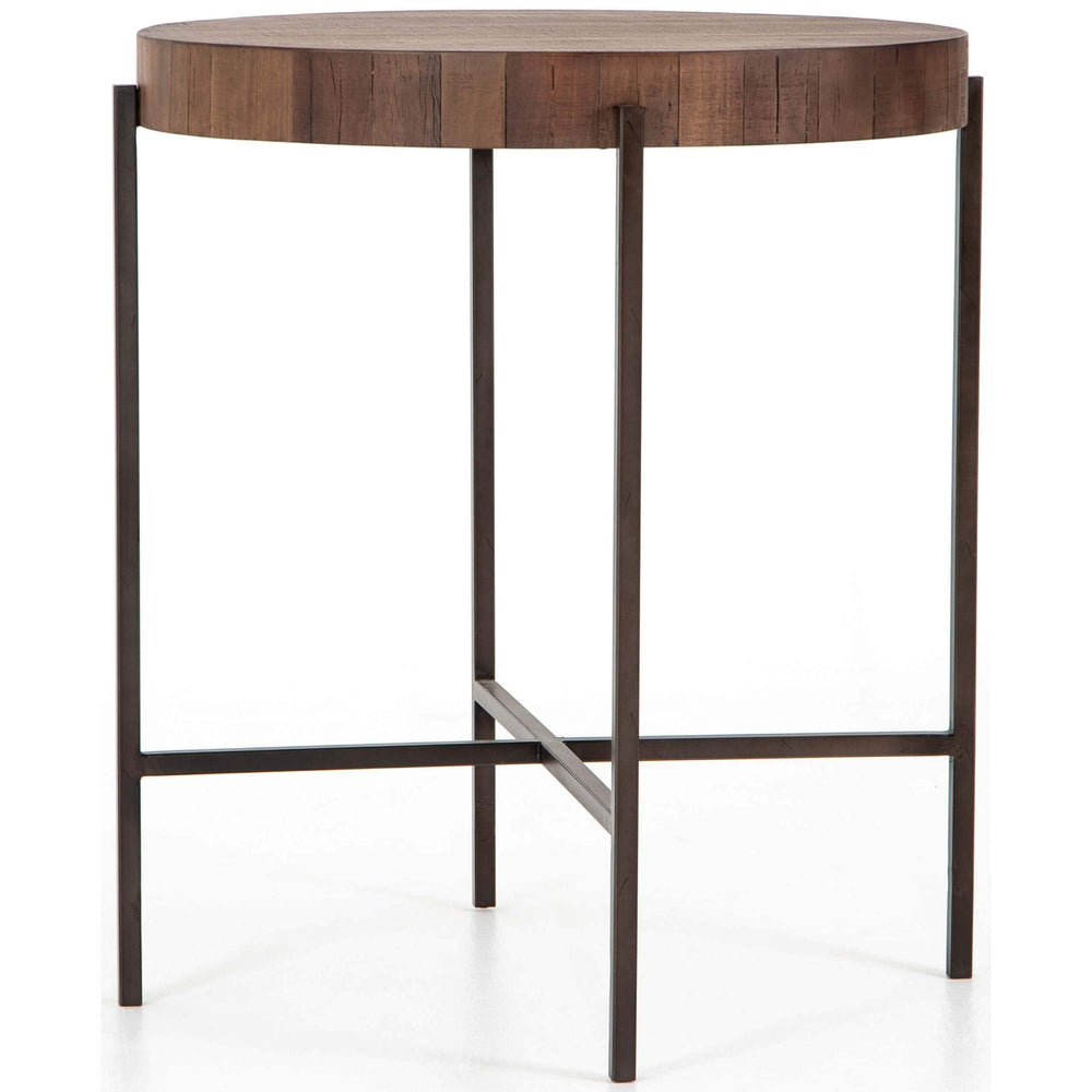 Tinsley Bar Table, Natural Brown - Modern Furniture - Dining Table - High Fashion Home