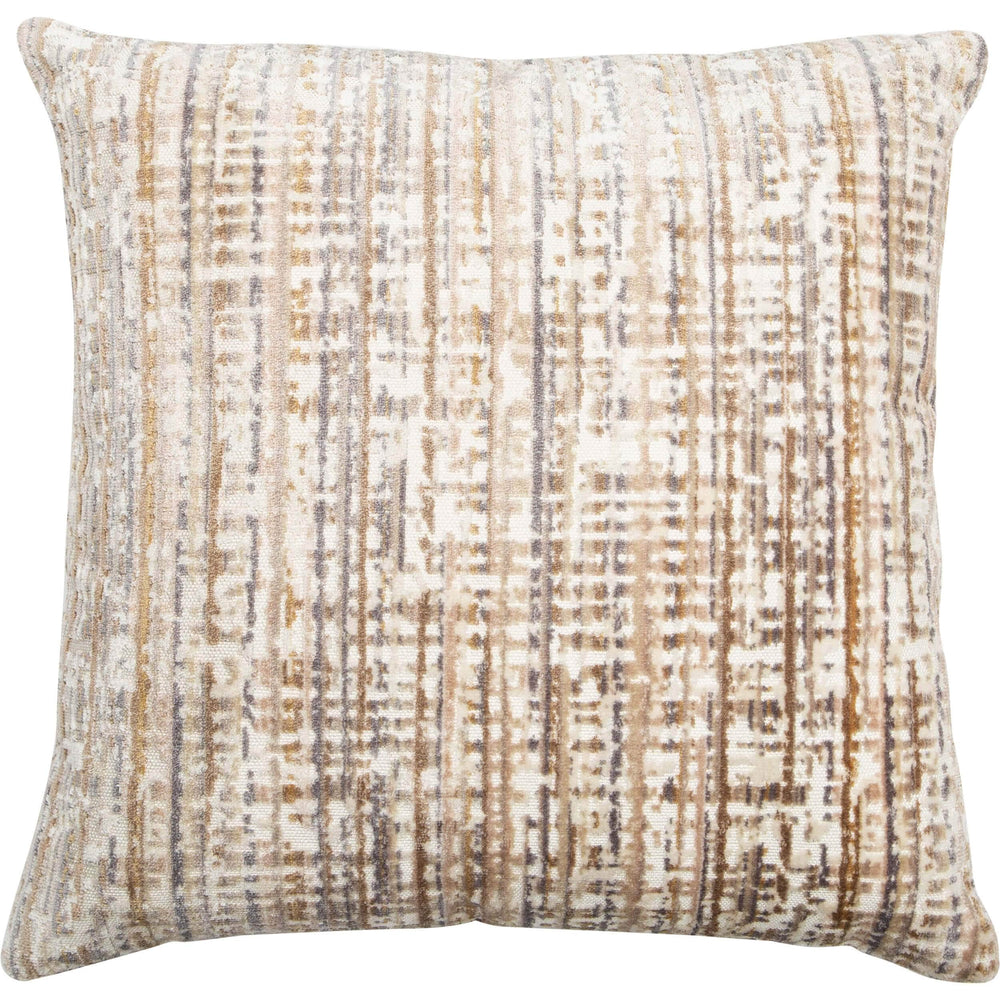 Tourist Throw Pillow, Sandstone