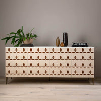 Trefoil Sideboard, Ivory - Furniture - Storage - High Fashion Home