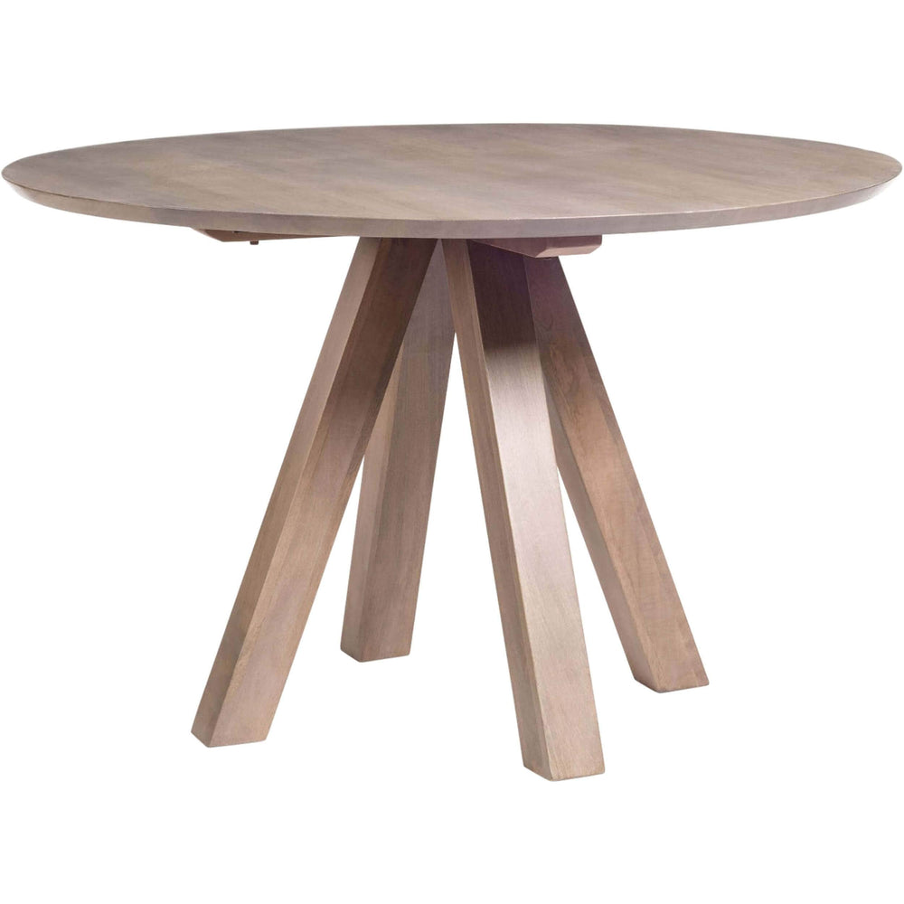 "Trenton 48"" Round Dining Table - Modern Furniture - Dining Table - High Fashion Home"
