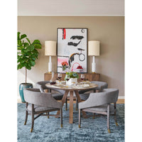 Wyatt Dining Chair, Modern Tweed - Furniture - Dining - High Fashion Home