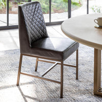 Zachary Dining Chair, Grey - Furniture - Dining - High Fashion Home