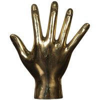 Open Hand, Brass - Accessories - High Fashion Home