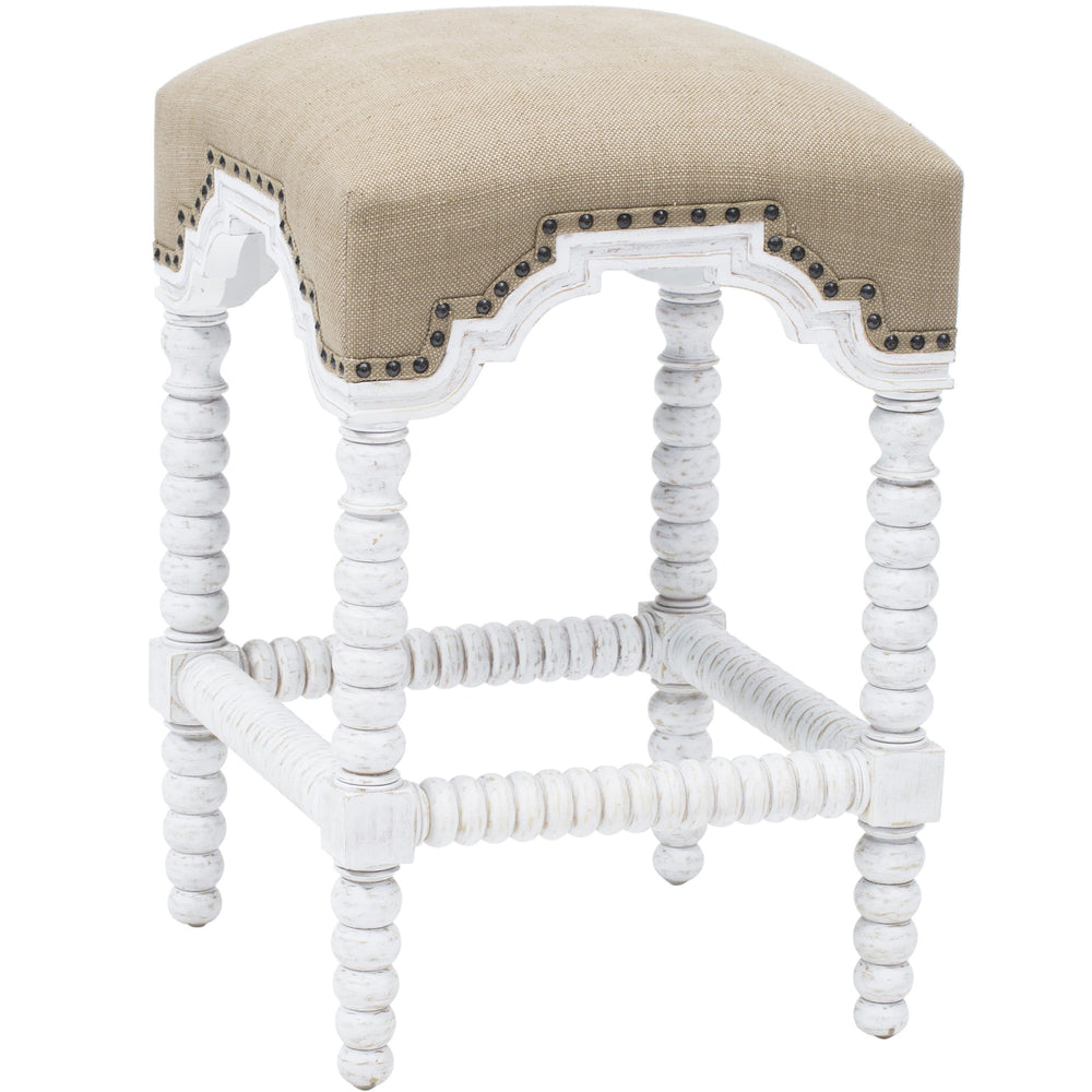 Atticus Counterstool, White - Furniture - Dining - Dining Stools