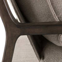Ace Chair, Cobblestone Jute - Furniture - Chairs - Fabric