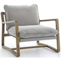 Ace Chair, Robson Pewter - Modern Furniture - Accent Chairs - High Fashion Home